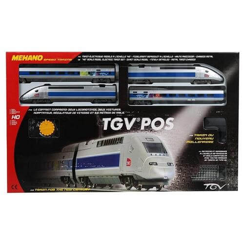 Железная дорога «MEHANO» TGV POS 3,35м (T103)