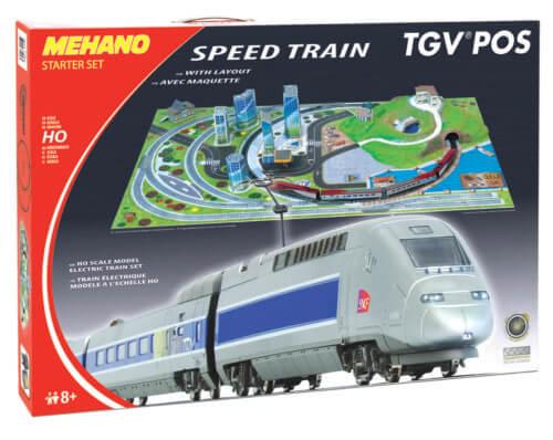 Железная дорога «MEHANO» TGV POS с рельефом 2,85 м (T111)