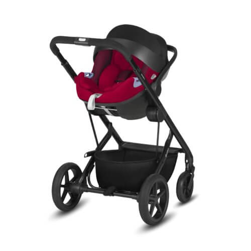 Cybex Balios S Ferrari with carry cot