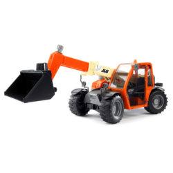 Bruder  Погрузчик колёсный JLG 2505 Telehandler с телескопическим ковшом