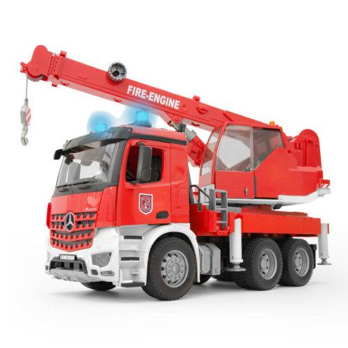 Bruder Пожарная машина автокран MB Arocs с модулем со световыми и звуковыми эффектами