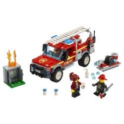LEGO City Town Грузовик начальника пожарной охраны