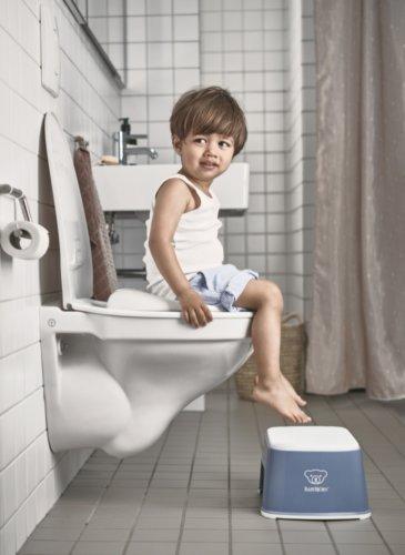 BabyBjorn стульчик-подставка синий