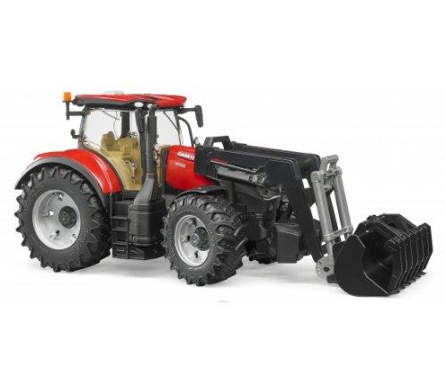 Bruder Трактор Case IH Optum 300 CVX с погрузчиком