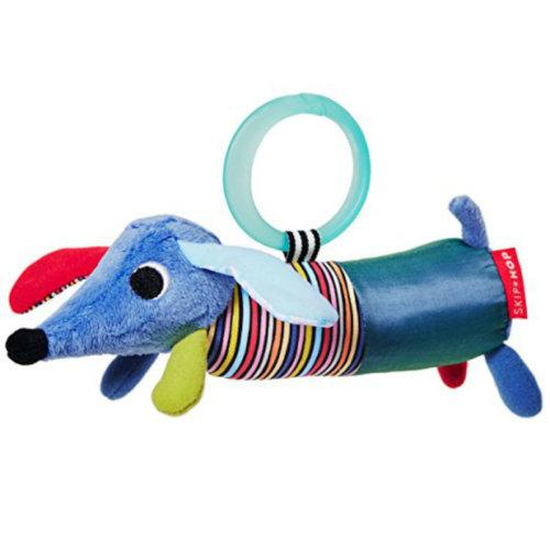 Skip Hop игрушка-подвеска развивающая «Щенок» 2в1