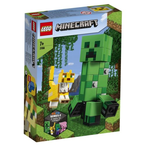 LEGO Minecraft Крипер и Оцелот большой