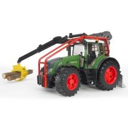 Bruder Трактор Fendt 936 Vario лесной с манипулятором