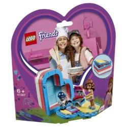 LEGO Friends Летняя шкатулка-сердечко для Оливии