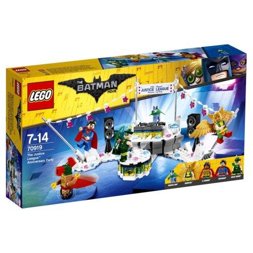 LEGO Batman Movie Вечеринка Лиги Справедливости