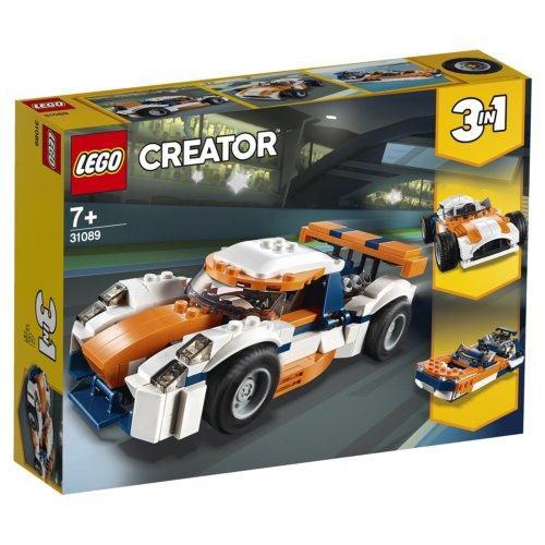 LEGO Creator Гоночный автомобиль Оранжевый
