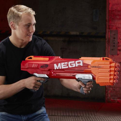 NERF Мега твиншок (бластер)
