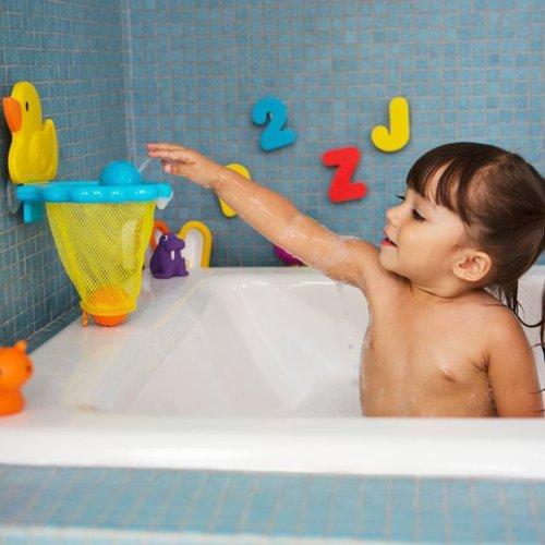 Munchkin игрушки для ванны Баскетбол Утка 12+