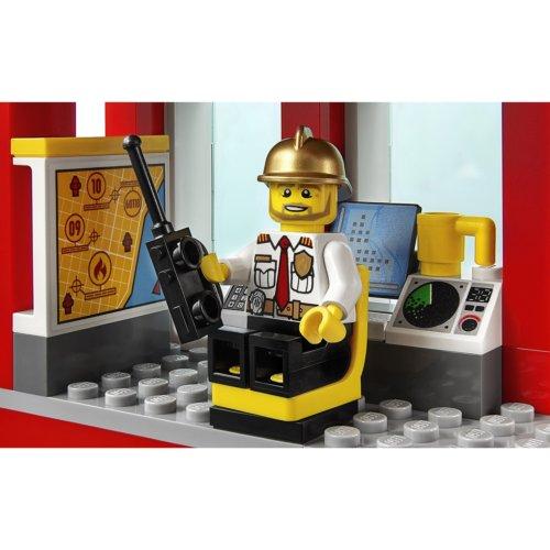 LEGO City Fire Пожарная часть