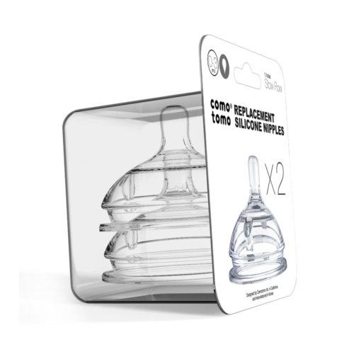 Comotomo набор сосок для бутылочки с 0 до 3 месяцев
