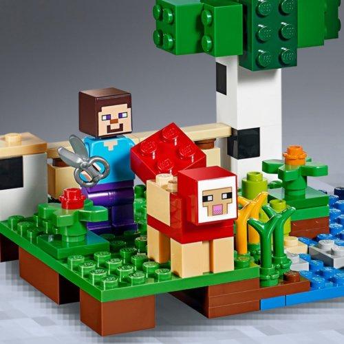 LEGO Minecraft Шерстяная ферма