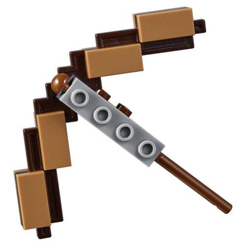 LEGO Minecraft Большие фигурки Minecraft Скелет с кубом магмы