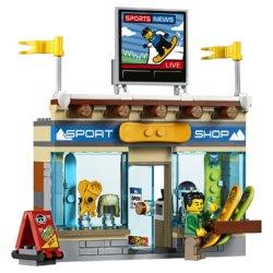 LEGO City Town Горнолыжный курорт