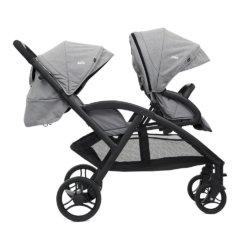 Joie коляска для двойни Evalite Duo «Gray Flannel»