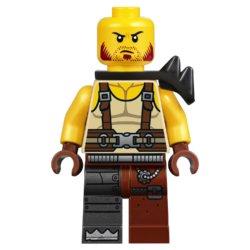 LEGO Movie Боевой Бэтмен и Железная борода