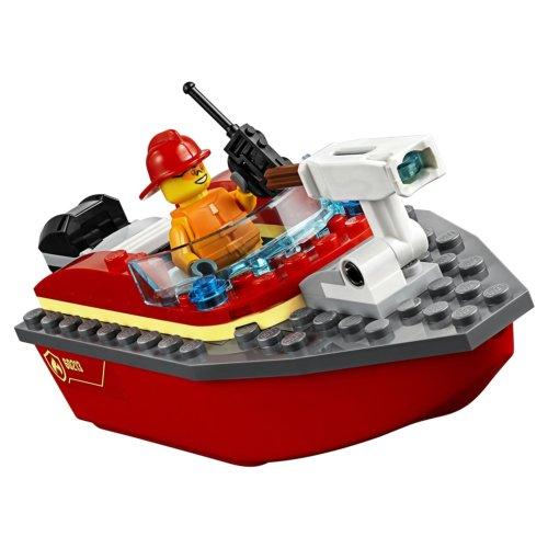 LEGO City Fire Пожар в порту