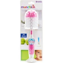 Munchkin ершик для бутылочек и сосок розовый