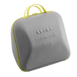 Beaba сумка для блендера-пароварки Babyсook цвет серый с желтым