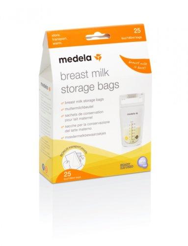Medela пакеты одноразовые для грудного молока Breast Milk Storage Bags 25шт