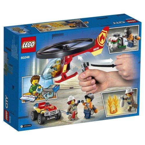 LEGO City Fire Пожарный спасательный вертолет