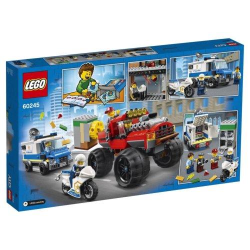 LEGO City Police Ограбление полицейского монстр-трака