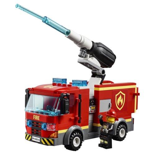 LEGO City Fire Пожар в бургер-кафе