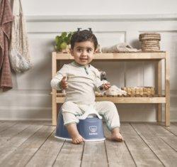 BabyBjorn горшок детский SMART синий
