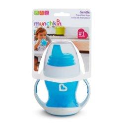 Munchkin обучающий поильник-чашка с ручками голубой 4+ 120мл.