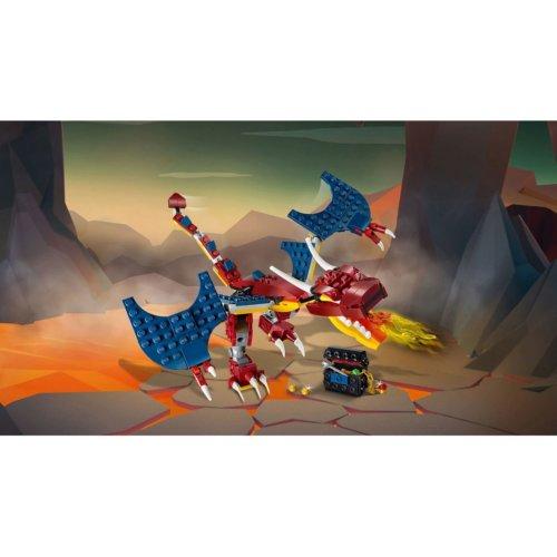 LEGO Creator Огненный дракон
