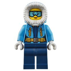 LEGO City Arctic Expedition Передвижная арктическая база
