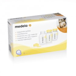 Medela контейнер-бутылочка для сбора грудного молока 150 мл.3шт.