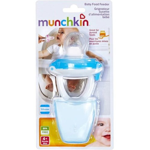 Munchkin ниблер для детского питания голубой 4+