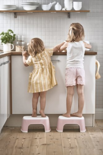 BabyBjorn стульчик-подставка розовый