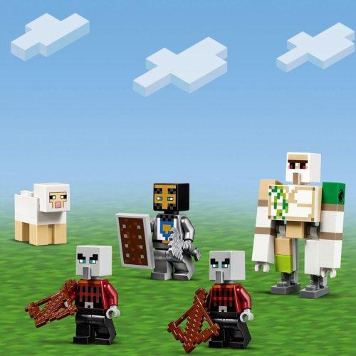 LEGO Minecraft Аванпост разбойников