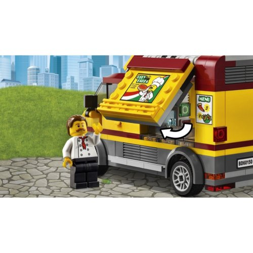 LEGO City Great Vehicles Фургон-пиццерия
