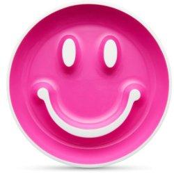 Munchkin Набор «Улыбка» (тарелка на присоске и ложка) 9+ Розовый