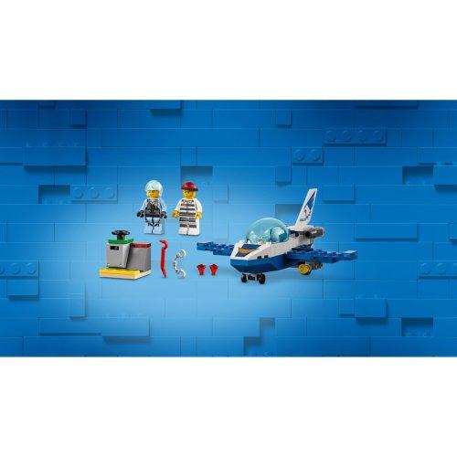 LEGO City Police Воздушная полиция: патрульный самолет