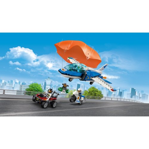 LEGO City Police Воздушная полиция: арест парашютиста