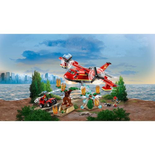 LEGO City Fire Пожарный самолет