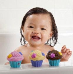 Munchkin игрушки для ванны брызгалки Кексики 4 шт.
