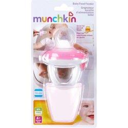 Munchkin ниблер для детского питания розовый 4+