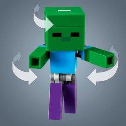 LEGO Minecraft Minecraft Свинья и Зомби-ребенок большой