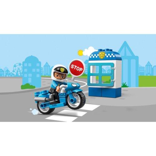 LEGO DUPLO Town Полицейский мотоцикл