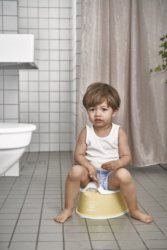 BabyBjorn горшок детский SMART желтый
