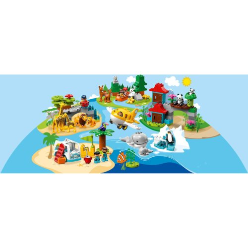LEGO DUPLO Town Животные мира