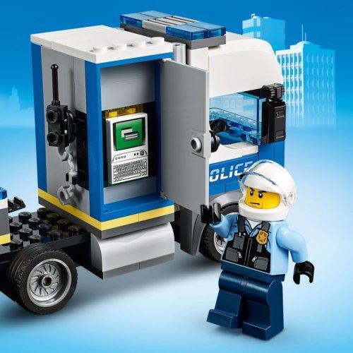 LEGO City Police Полицейский вертолетный транспорт